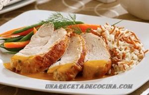 "RECETA   ""Pavo En Salsa De Maracuyá"""