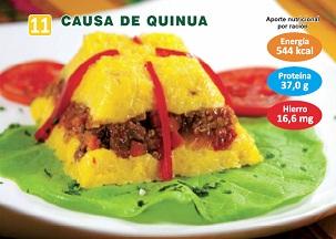 CAUSA DE QUINUA