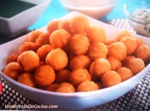 Receta de bolitas de yuca con queso