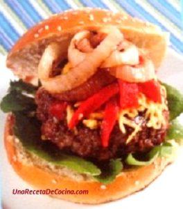 receta de hamburguesas gourmet