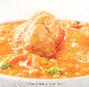 receta de aguadito de pavita al tomate