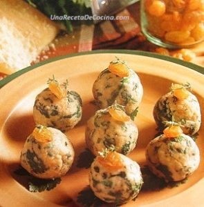 Receta de Albóndigas de Verduras