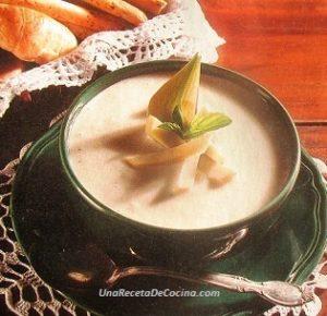 Crema de Alcachofas o Alcaucil