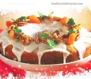 Receta de cake de mandarina y nueces