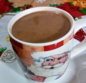 receta de chocolate caliente navideño